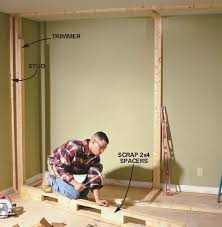 how to build a closet in a bedroom
