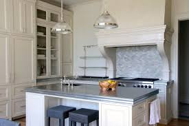 kitchen appliances zinc transitional kitchen photo in los angeles with glass front cabinets be