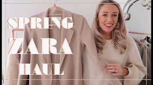 ZARA <b>NEW</b> IN HAUL & TRY ON // Pre-<b>Spring 2019</b> // Fashion ...