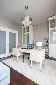 home office ideas inside the memorial park residence laura with white desk and blue chair also blue white home office