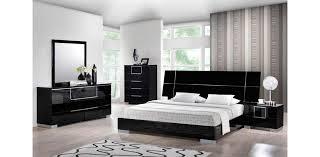 hailey black bedroom set 5pc global furniture bedroom black furniture sets