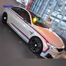 1 set <b>M</b> power <b>performance car door</b> sticker for <b>BMW</b> F30 F10 E60 ...