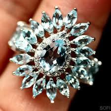 Купить серебряное <b>кольцо с топазом и</b>. Топаз в серебре