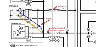interior light wiring diagram interior image interior lights wiring diagram for 1993 corvette interior auto on interior light wiring diagram