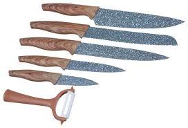 <b>Набор</b> Satoshi Kitchenware Алмаз 5 <b>ножей и овощечистка</b> ...