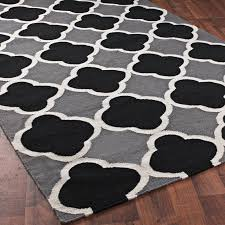interior simply wooden floor design plus astonishing gray rug idea with remarkable black white striped black white rug home