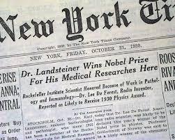 「Karl Landsteiner」の画像検索結果