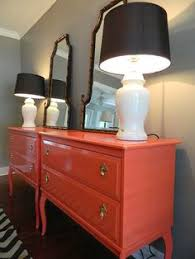 1000 images about orange painted furniture on pinterest orange dresser general finishes and milk paint black lacquer furniture paint