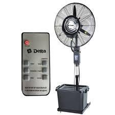 <b>Вентилятор</b> с увлажнителем воздуха Mist <b>Fan DL</b>-<b>024H</b>-RC (с ...