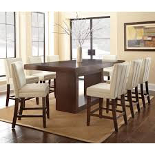 steve silver antonio piece counterheight dining table set with