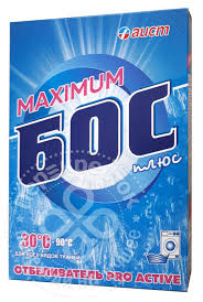 Отзывы о Средстве отбеливающем <b>БОС плюс Maximum</b> 600г ...