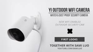 <b>Yi Outdoor</b> Wi-Fi Security <b>Camera</b> - YouTube