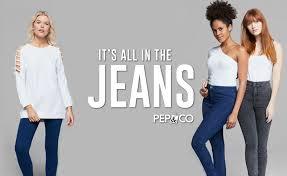 IT's ALL IN THE <b>JEANS</b>! |