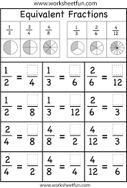 1000+ ideas about Equivalent Fractions on Pinterest | Fractions ...This is a great review worksheet for students after they have learned equivalent fractions. They can use the pie charts above to help them visualize the ...