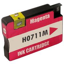 Compatible <b>HP 711 Magenta</b> Ink Cartridge (CZ131A)