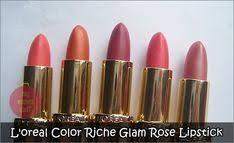 L&#39;oreal <b>Color Riche Glam</b> Rose <b>Lipstick</b> Collection - <b>loreal</b> rose ...
