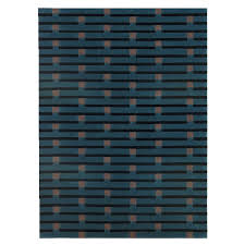 room modern camille glass: purlin tufted rug petrol     purlin tufted rug petrol
