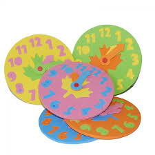 <b>2019</b> New <b>1Pc Hot Sale</b> Baby Kids Foam Clock Number Puzzle ...