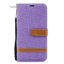 <b>Pure Color</b> Flip Phone Case sFor Estuche Huawei P20 Lite <b>Soft</b> ...