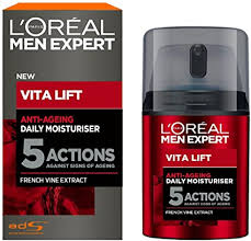<b>L'Oréal Paris Men</b> Expert Anti Ageing Moisturiser, 50ml: Amazon.co ...