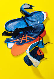 Most shoes are made with lots of <b>plastic</b>. Can that change?