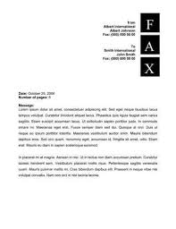 square vertical letters fax cover fax cover letter format
