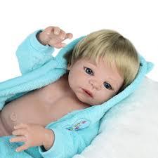 <b>NPKDOLL 55cm Soft</b> Silicone Reborn Dolls Baby Realistic Doll ...