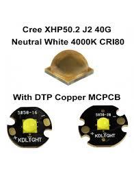 Cree XHP50.2 J2 40G Neutral White <b>4000K</b> CRI80 LED Emitter