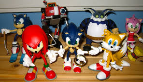 نتیجه تصویری برای sonic dolls