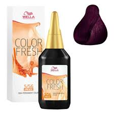 <b>COLOR FRESH Оттеночная краска</b> для волос № 5/56 рубин от ...
