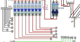 3 phase ups circuit diagram images diagram on wiring generac distribution board wiring for single phase