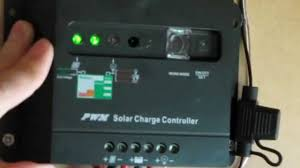 Get you started how to operate <b>Pwm solar charge controller</b> - YouTube