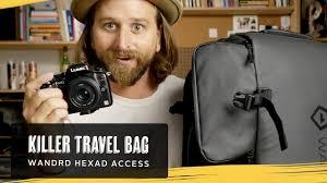 <b>Wandrd Hexad</b> Access Travel <b>Duffel Bag</b>! - YouTube