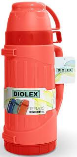 "<b>Термос</b> ""Diolex"", цвет: <b>красный</b>, 600 мл"