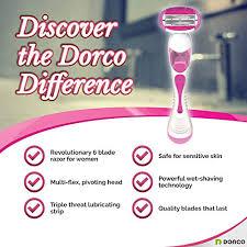 <b>Dorco Shai 6</b> - Six Blade Razor Shaving S- Buy Online in Bermuda ...