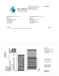 can you print your own fedex shipping label burris computer forms examples of printed packing slip shipping label combinations