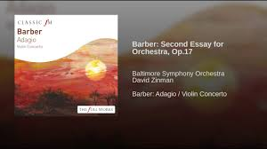 barber second essay for orchestra op  barber second essay for orchestra op 17