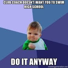 Swimmer Memes via Relatably.com