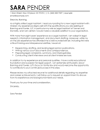 edit sample paralegal cover letter