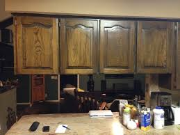 Diy Staining Kitchen Cabinets Using Chalk Paint To Refinish Kitchen Cabinets Wilker Dos