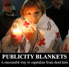 Red Cro$$ | Sandy Hook Elementary School Shooting | Know Your Meme via Relatably.com