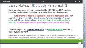 bravery essay tide body paragraph  bravery essay tide body paragraph 1