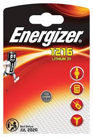 <b>Батарейка Energizer Lithium CR1216</b>, 1 шт - купить по цене 0 руб ...