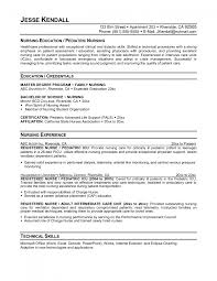 cover letter licensed practical nurse resume examples licensed cover letter registered practical nurse resume samples student example charge sample education and technical skills or