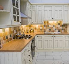 Small Picture Pictures of Kitchens Traditional Off White Antique Kitchen