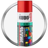 <b>Эмаль аэрозольная Kudo</b> KU-<b>1001</b> универсальная глянцевая ...