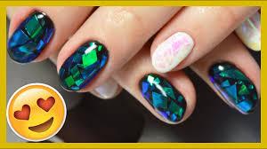 Маникюр БИТОЕ СТЕКЛО // <b>Shattered</b> glass <b>nail</b> art - YouTube