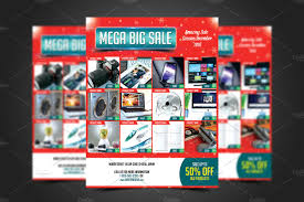product discount flyer photos graphics fonts themes templates mega big flyer template