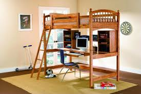 bunk bed loft with desk bunk bed computer desk