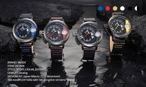 <b>WEIDE</b> Mens Sporty <b>Watch</b> Luxury Brand Analog Quartz Movement ...
